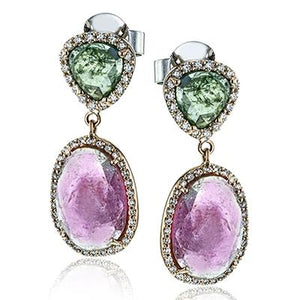 ZEGHANI ZEGHANI - ZE651 Color Earrings - Birmingham Jewelry
