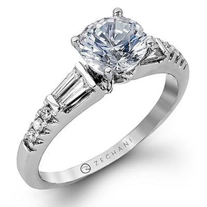 ZEGHANI ZEGHANI - ZR1032 Engagement Ring - Birmingham Jewelry