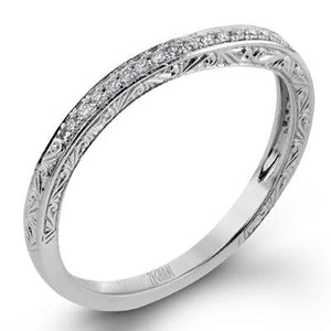 ZEGHANI ZEGHANI - ZR1051 (Band) Wedding Band - Birmingham Jewelry