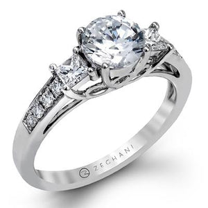ZEGHANI - ZR1110, Engagement Ring, ZEGHANI - Birmingham Jewelry