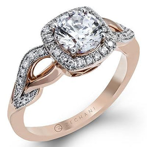 ZEGHANI ZEGHANI - ZR1135 Engagement Ring - Birmingham Jewelry