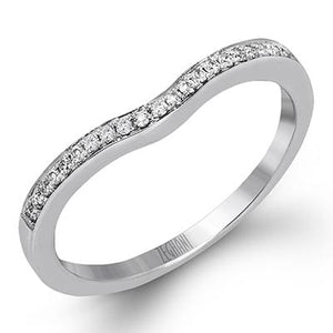 ZEGHANI ZEGHANI - ZR1137 Mykonos (Band) Wedding Band - Birmingham Jewelry