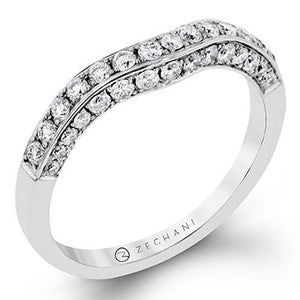 ZEGHANI ZEGHANI - ZR113 Paris (Band) Wedding Band - Birmingham Jewelry
