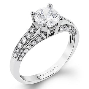 ZEGHANI ZEGHANI - ZR113 Paris Engagement Ring - Birmingham Jewelry