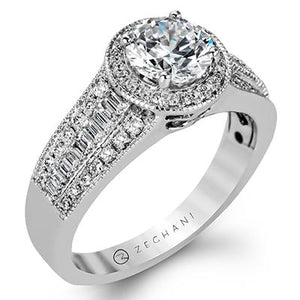 ZEGHANI - ZR1160, Engagement Ring, ZEGHANI - Birmingham Jewelry