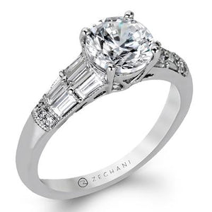 ZEGHANI - ZR1164, Engagement Ring, ZEGHANI - Birmingham Jewelry