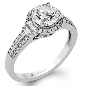 ZEGHANI ZEGHANI - ZR1165 Engagement Ring - Birmingham Jewelry