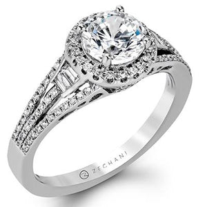 ZEGHANI - ZR1167, Engagement Ring, ZEGHANI - Birmingham Jewelry