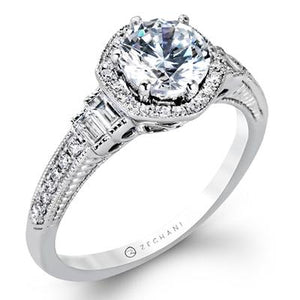 ZEGHANI - ZR1168, Engagement Ring, ZEGHANI - Birmingham Jewelry