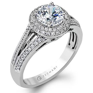 ZEGHANI - ZR1170, Engagement Ring, ZEGHANI - Birmingham Jewelry