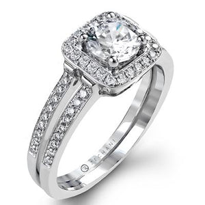 ZEGHANI - ZR1179, Engagement Ring, ZEGHANI - Birmingham Jewelry
