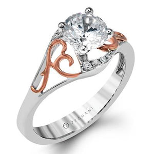 ZEGHANI - ZR1189, Engagement Ring, ZEGHANI - Birmingham Jewelry
