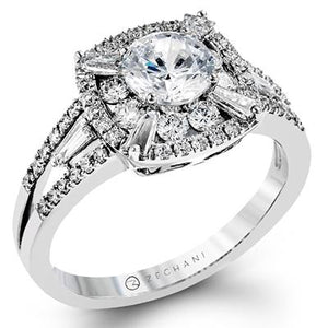 ZEGHANI - ZR1192 Luxembourg, Engagement Ring, ZEGHANI - Birmingham Jewelry