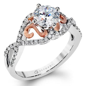 ZEGHANI - ZR1196, Engagement Ring, ZEGHANI - Birmingham Jewelry