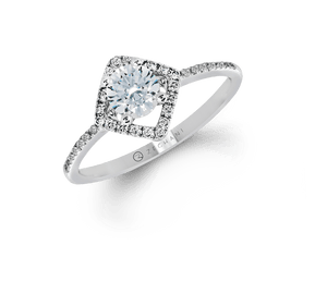 ZEGHANI - ZR1199, Engagement Ring, ZEGHANI - Birmingham Jewelry