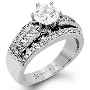 ZEGHANI - ZR119, Engagement Ring, ZEGHANI - Birmingham Jewelry