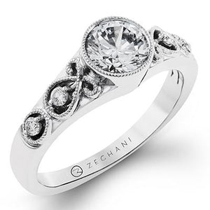 ZEGHANI ZEGHANI - ZR1209 Engagement Ring - Birmingham Jewelry