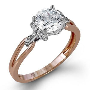 ZEGHANI ZEGHANI - ZR1217 Engagement Ring - Birmingham Jewelry