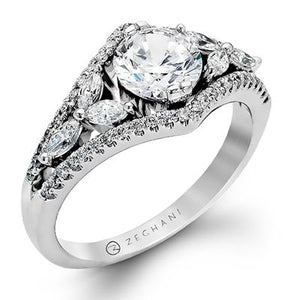 ZEGHANI ZEGHANI - ZR121 Engagement Ring - Birmingham Jewelry
