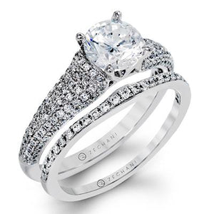 ZEGHANI - ZR1224 St. Barths (Set), Engagement Ring Set, ZEGHANI - Birmingham Jewelry
