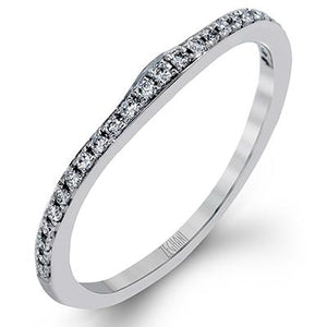 ZEGHANI ZEGHANI - ZR1224 St. Barths (Band) Wedding Band - Birmingham Jewelry
