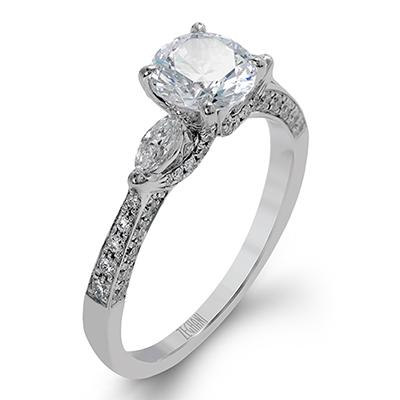 ZEGHANI ZEGHANI - ZR1228 Engagement Ring - Birmingham Jewelry