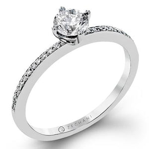 ZEGHANI ZEGHANI - ZR1233 Surround Me Engagement Ring - Birmingham Jewelry