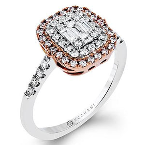 ZEGHANI ZEGHANI - ZR1235 Pershing Engagement Ring - Birmingham Jewelry
