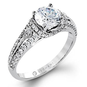 ZEGHANI ZEGHANI - ZR1241 Engagement Ring - Birmingham Jewelry