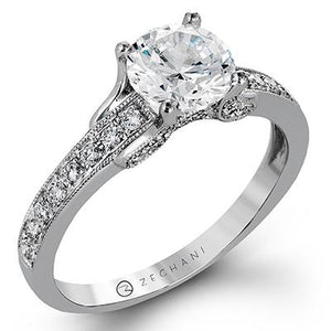 ZEGHANI ZEGHANI - ZR1248 Engagement Ring - Birmingham Jewelry