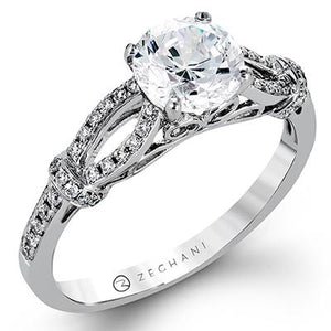 ZEGHANI ZEGHANI - ZR1249 Engagement Ring - Birmingham Jewelry