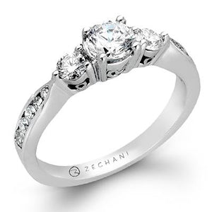ZEGHANI ZEGHANI - ZR126 Mott Engagement Ring - Birmingham Jewelry