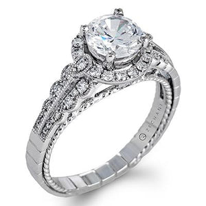 ZEGHANI - ZR1275, Engagement Ring, ZEGHANI - Birmingham Jewelry