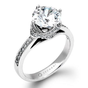 ZEGHANI ZEGHANI - ZR1282 Engagement Ring - Birmingham Jewelry
