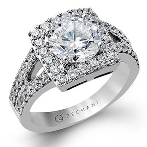 ZEGHANI ZEGHANI - ZR1283 Engagement Ring - Birmingham Jewelry