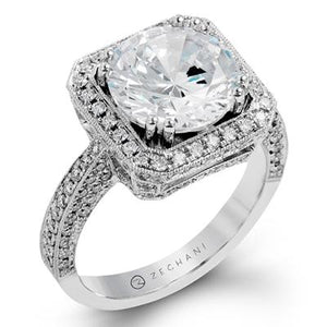 ZEGHANI ZEGHANI - ZR1285 Engagement Ring - Birmingham Jewelry