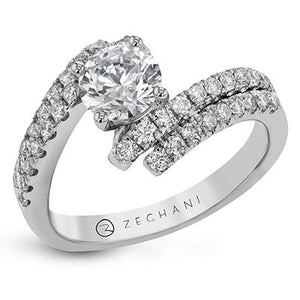 ZEGHANI ZEGHANI - ZR1307 Engagement Ring - Birmingham Jewelry