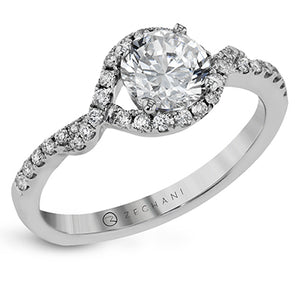 ZEGHANI ZEGHANI - ZR1308 Engagement Ring - Birmingham Jewelry