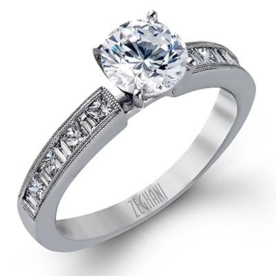 ZEGHANI - ZR141, Engagement Ring, ZEGHANI - Birmingham Jewelry
