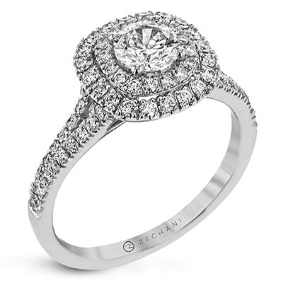 ZEGHANI - ZR1613, Engagement Ring, ZEGHANI - Birmingham Jewelry