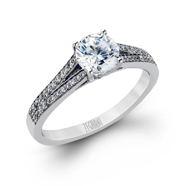 ZEGHANI - ZR226, Engagement Ring, ZEGHANI - Birmingham Jewelry