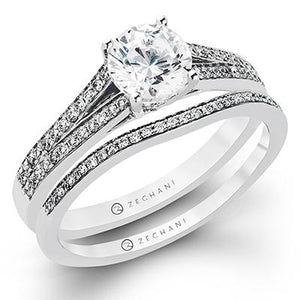 ZEGHANI ZEGHANI - ZR226 (Set) Engagement Ring Set - Birmingham Jewelry