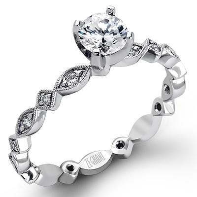 ZEGHANI - ZR228 Ibiza, Engagement Ring, ZEGHANI - Birmingham Jewelry