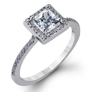 ZEGHANI ZEGHANI - ZR272 Walden Engagement Ring - Birmingham Jewelry