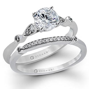 ZEGHANI - ZR397 Star Of Bali (Set), Engagement Ring Set, ZEGHANI - Birmingham Jewelry