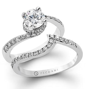 ZEGHANI - ZR457 (Set), Engagement Ring Set, ZEGHANI - Birmingham Jewelry