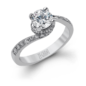 ZEGHANI - ZR457, Engagement Ring, ZEGHANI - Birmingham Jewelry