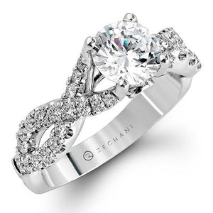 ZEGHANI ZEGHANI - ZR670 Claremont Engagement Ring - Birmingham Jewelry
