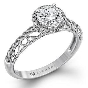 ZEGHANI - ZR826 Winter Ivy, Engagement Ring, ZEGHANI - Birmingham Jewelry