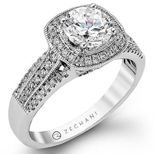 ZEGHANI ZEGHANI - ZR978 Lagrande Engagement Ring - Birmingham Jewelry